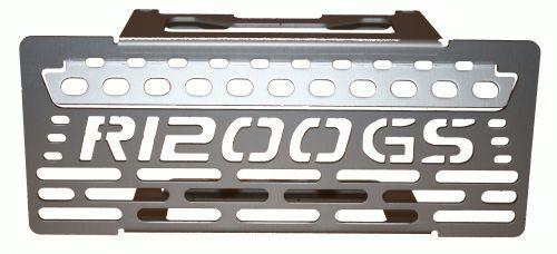 1012 Rugged Roads BMW R1200GS//A Silver Oil Cooler Guard GS Logo