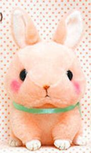 Cute-Baby-Animals-3-039-039-Pink-Bunny-Amuse-Plush-Key-Chain-NEW