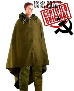 Plash-Palatka-Soviet-Russian-Army-Tent-Military-Soldier-Poncho-USSR-Cloak-Tent