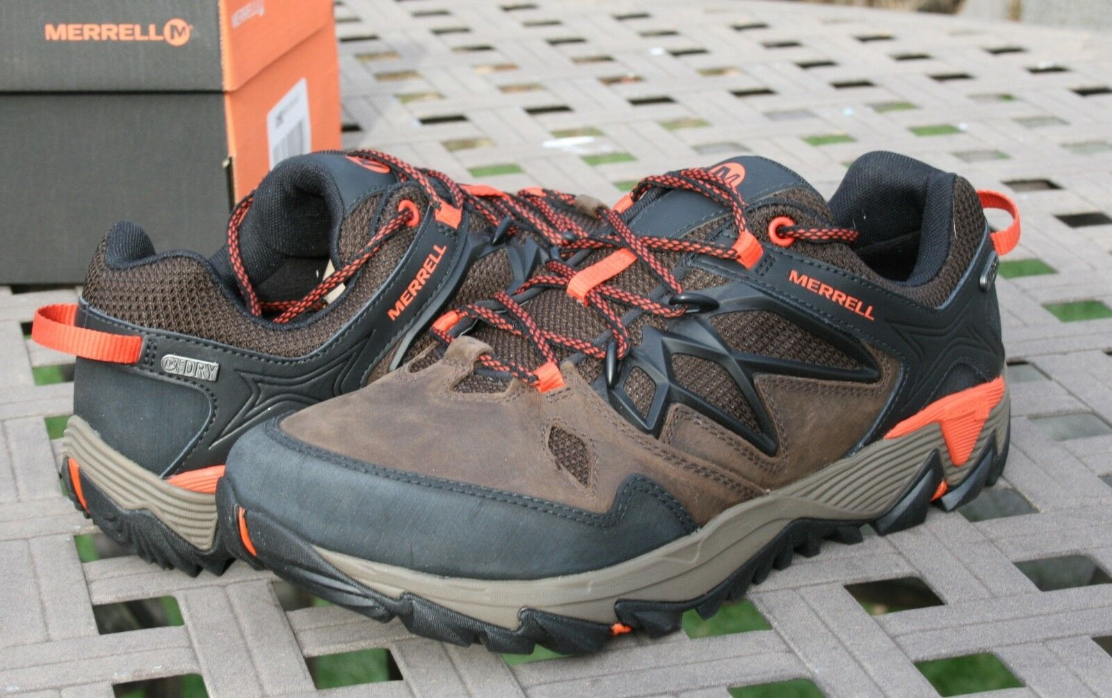 c603267d4b MERRELL ALL BLAZE Waterproof US 9 Men's Trail Hiking shoes OUT 2  npguip1607-new shoes