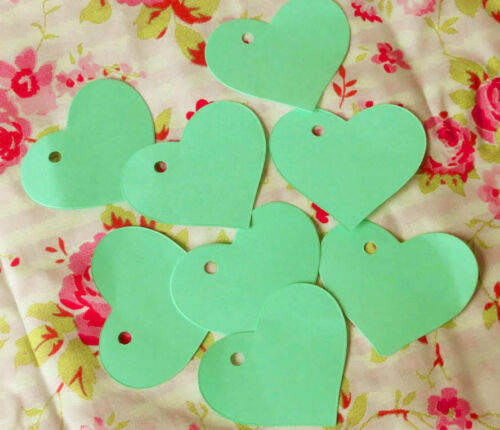 Wishing tree Crafts Heart shaped tags Cards.Pack of 20 Labels Weddings