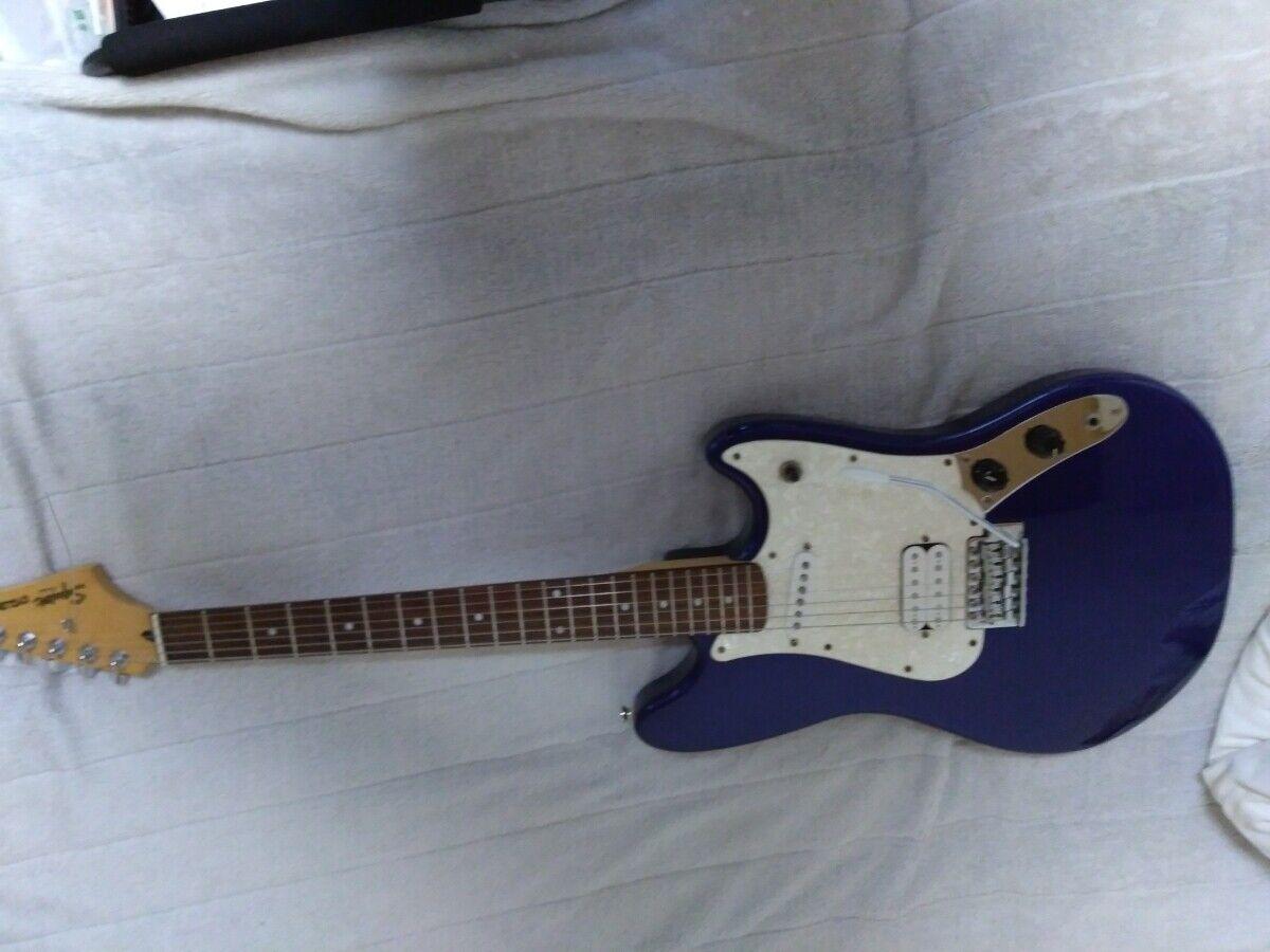 Fender Squier cyclone JAPAN beautiful rare EMS F S