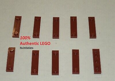 LEGO Plate 1X4 with 2 Studs  92593 grey//red//black//white//tan x 1