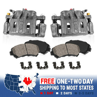 Front Ceramic Brake Pads w//Hardware for Acura TL Honda Ridgeline