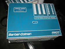 Barber Colman Maco 4000 Injection Control Chassis Model 40BA-200AC-C0A-A-00