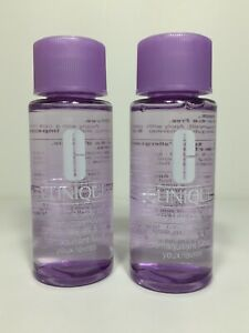 2aa88fc6e3b0 Details about Clinique Take the Day Off Makeup Remover 1.7 fl oz Lot of 2  Travel Size Bottles