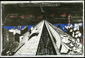 DDR-Kunst-1980-Grosse-Lithogr-Claus-WEIDENSDORFER-1931-2020-D-handsigniert