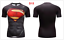 Superhero-Superman-Marvel-3D-Print-GYM-T-shirt-Men-Fitness-Tee-Compression-Tops thumbnail 8