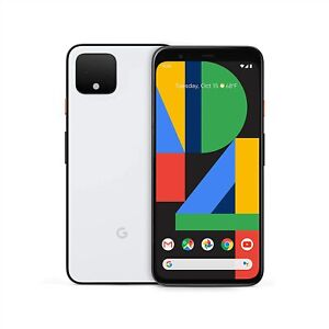 Google Pixel 4 - 64GB - White Factory Unlocked LTE Smartphone - Open Box