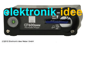 MINI-ONE-COOPER-S-R50-R52-R53-1-Generation-SD-Karten-MP3-Player-CP600BMW