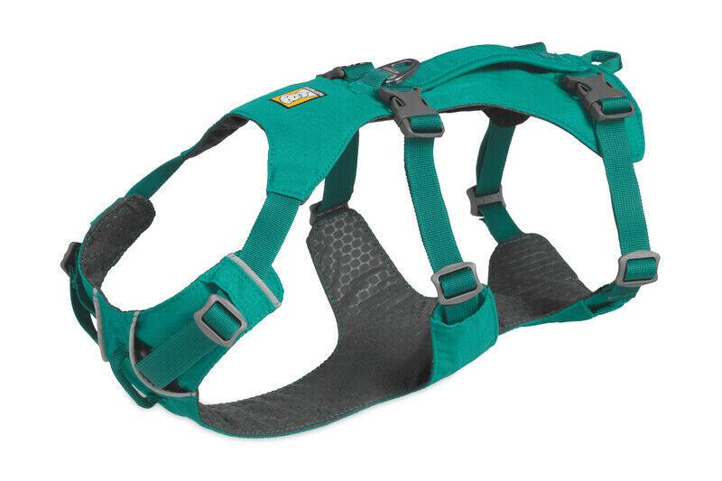 Ruffwear Flagline Dog Harness 3055 455 Meltwater Teal NEW