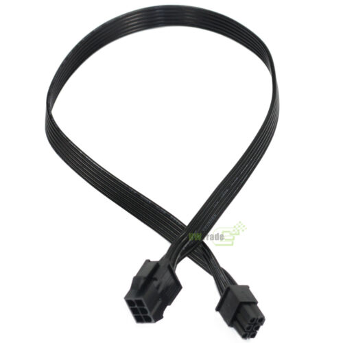6Pin Male to 6-Pin Female PCI-E GPU Video Card Power Extension Cable 50cm