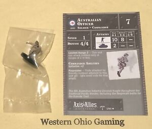 Axis-amp-Allies-Miniatures-North-Africa-Australian-Officer-1-60-NEW-A-amp-A