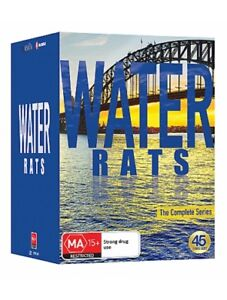 Water-Rats-DVD-2017-45-Disc-Set-THE-Complete-Series-1-6-New-And-Sealed
