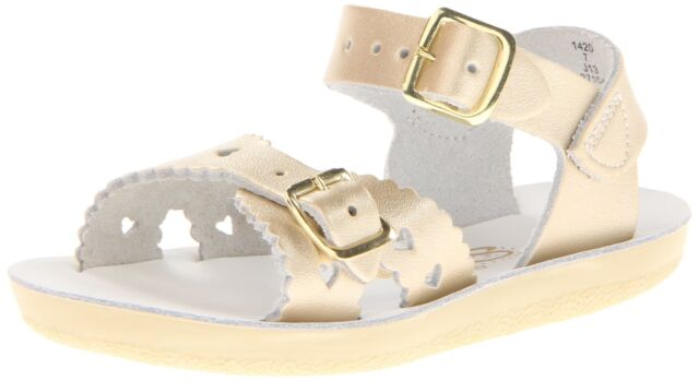 Salt Water Sandals 820-GOLD by Hoy Shoe The Original Gold Sandal