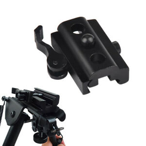 20mm-QD-Bipod-Sling-Swivel-Adapter-Weaver-Picatinny-Schienenmontage-For-Rifle