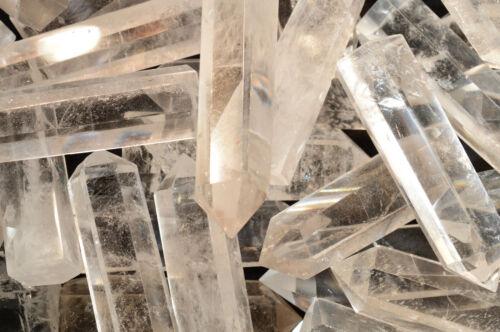 "Clear Quartz Point 2 3//4/"" Polished Rock Mineral Specimen Reiki Chakra Healing"