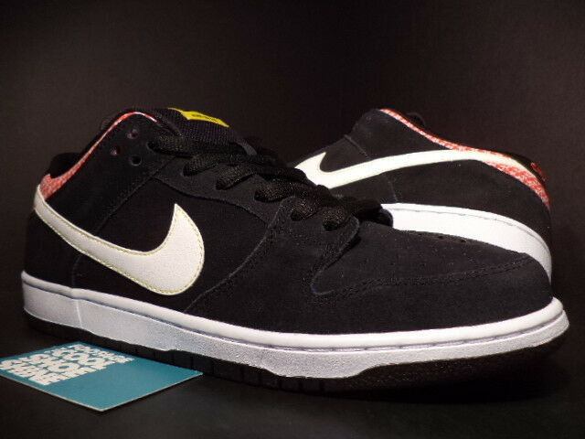 Nike Dunk Low Premium SB FIRECRACKER BLACK WHITE CHALLENGE RED 313170-016 DS 10