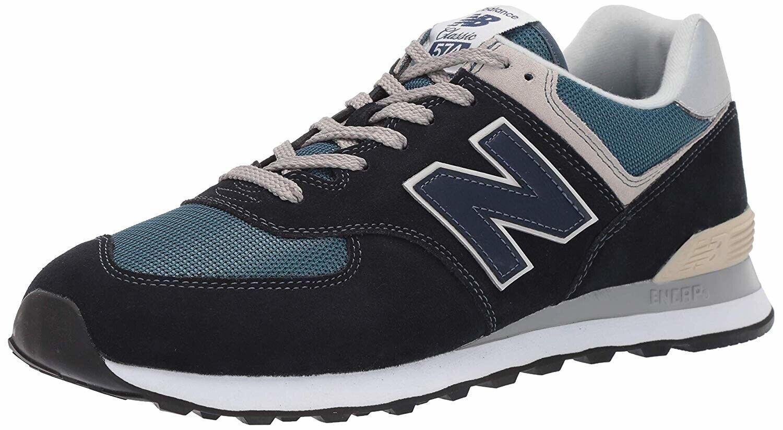 New Balance 574 Men's Sport Sneakers Walking shoes bluee ML574ESS