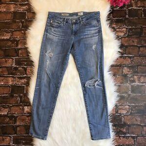 Women-039-s-AG-Adriano-Goldschmied-Jeans-Size-27-27R-The-Stevie-Ankle-Slim-Straight