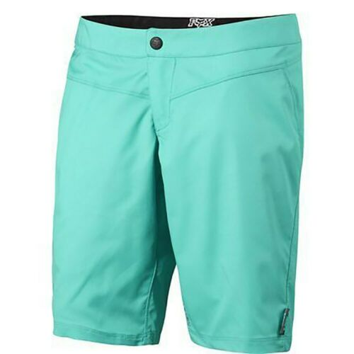 New Fox Women/'s Ripley Shorts Large Miami Green