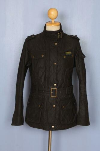 Womens BARBOUR Quilted International Waxed Jacket