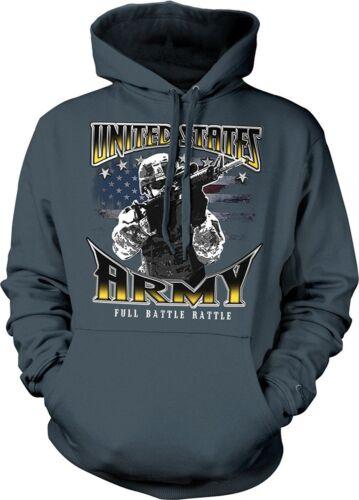 United States Army hoodie Full Battle Rattle Hooded Sweatshirt