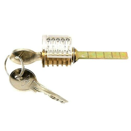 Transparent Visible Inside Padlock Training Applicable Practice Lock New YMZ