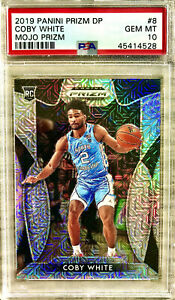 2019-20-Panini-COBY-WHITE-Silver-Prizm-Mojo-Rookie-RC-49-SSP-PSA-10-GEM-MINT