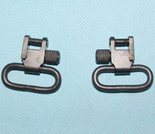 """Rifle Sling Swivels 1/"""" Inch Diameter Quick Detach Sling Loops Swivel Steel F01"""