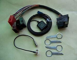 Audi A A A RNSE Bose Plug Play Adapter Retrofit Kit EBay - Audi rns e