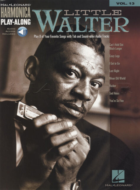 Little Walter Harmonica Play-Along Sheet Music Book & Audio Learn to Play 8 Song