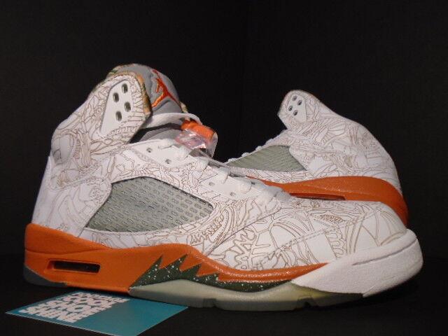 buy popular 5ab33 6730f ... 06 Nike Air Jordan LASER V 5 Retro RA RARE AIR LASER ea85ae7 Jordan  blanc OLIVE Nike Air Skylon TC ...