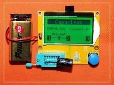 ESR Meter 12864 LCD Transistor Tester Diode Triode Capacitance MOS PNP/NPN LCR