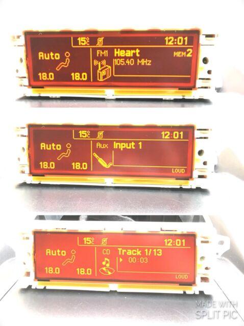 Genuino PEUGEOT 407 Citroen C5 RD4 Pantalla Pantalla Multifunción Garantía de 60 días