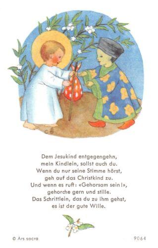 "Santo figurita imagen gebetbild /""ida bohatta/"" Holy card Ars sacra /""h282/"""