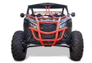 Dragonfire Racing UTV Red RacePace Front Bumper Guard Can-Am Maverick X3