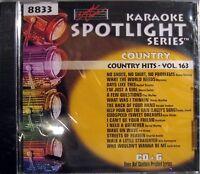 Sound Choice Karaoke Cdg - Sc8833 Vol. 163 Country Hits