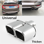 1pcs-2-4-034-Stainless-Steel-Dual-Straight-Pipe-Exhaust-Pipe-Muffler-Modification thumbnail 4