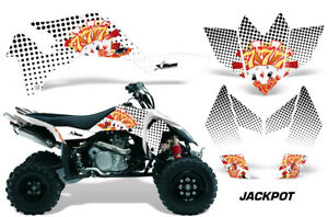 Raptor 660 graphics Yamaha 660R sticker kit NO8800 Hot Pink