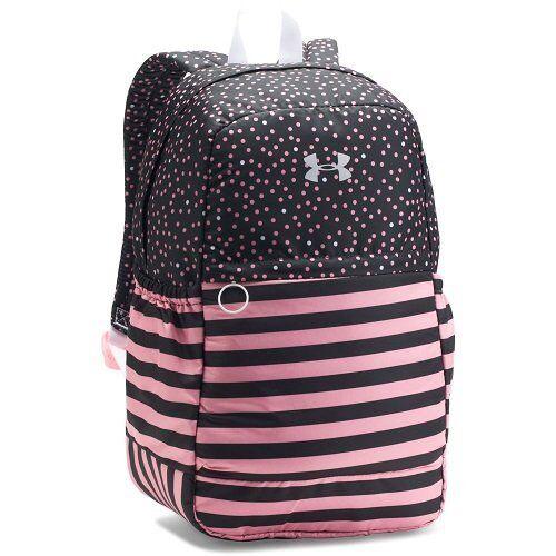 9f0c33ff89 UA Under Armour Favorite Girls Backpack 1277402 Pink & Black 11x5 ...