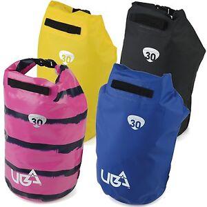 98b8f9a298 Urban Beach Waterproof 30 Litre Roll Top Dry Tube Bag Backpack Dive ...
