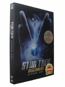Star-Trek-Discovery-Season-One-DVD-2018-4-Disc-Set-New