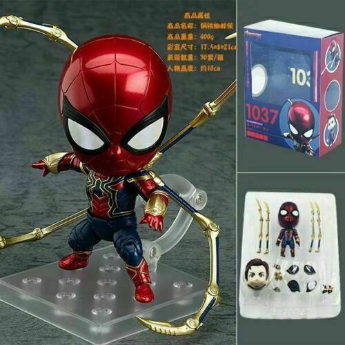 Nendoroid 1037 Iron Man Action Figure Avengers Infinity War Figurine