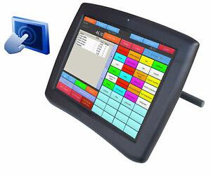 """30.5 Cm 12"""" Display Monitor Pour Caisse Ad-1240b écran Tactile Sur Usb+rs-232-afficher Le Titre D'origine"""