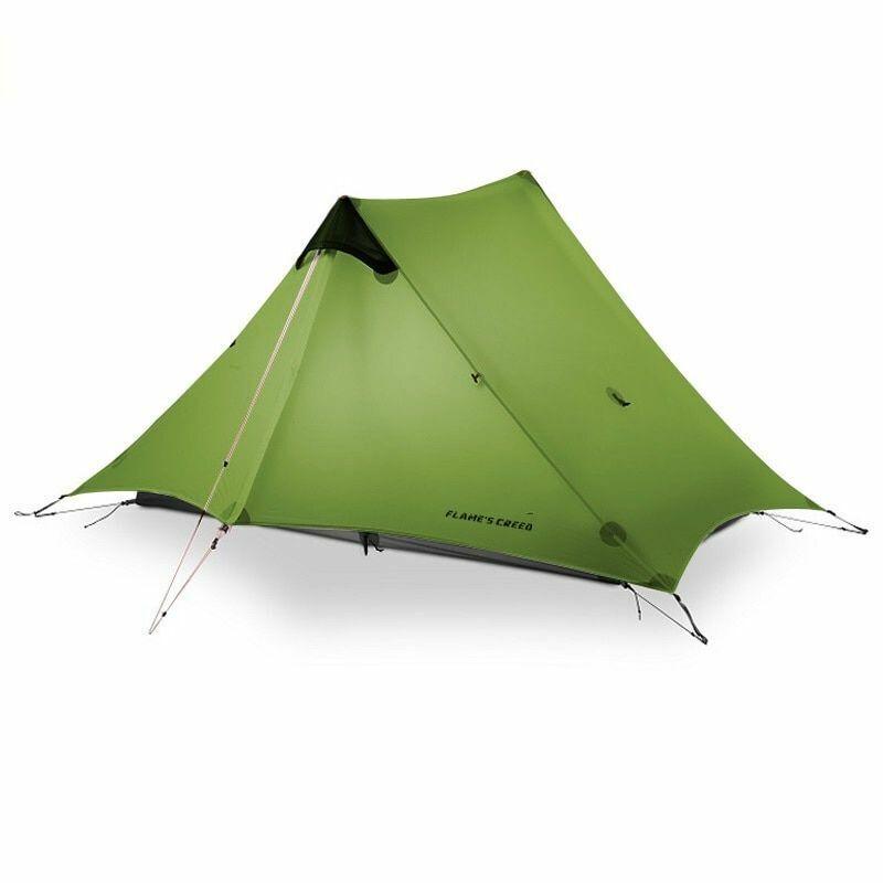 Ultralight Camping Tent 2 Person Oudoor 3 Season Professional 15D Silnylon New