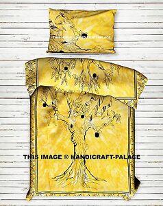 Reversible Mandala Tree Of Life Indian Duvet Cover Quilt Cover Bedding Set