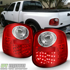For 1997 2003 Ford F150 F 150 Flareside Red Lumileds Led Tail Lights Brake Lamps Fits 1997 Ford F 150