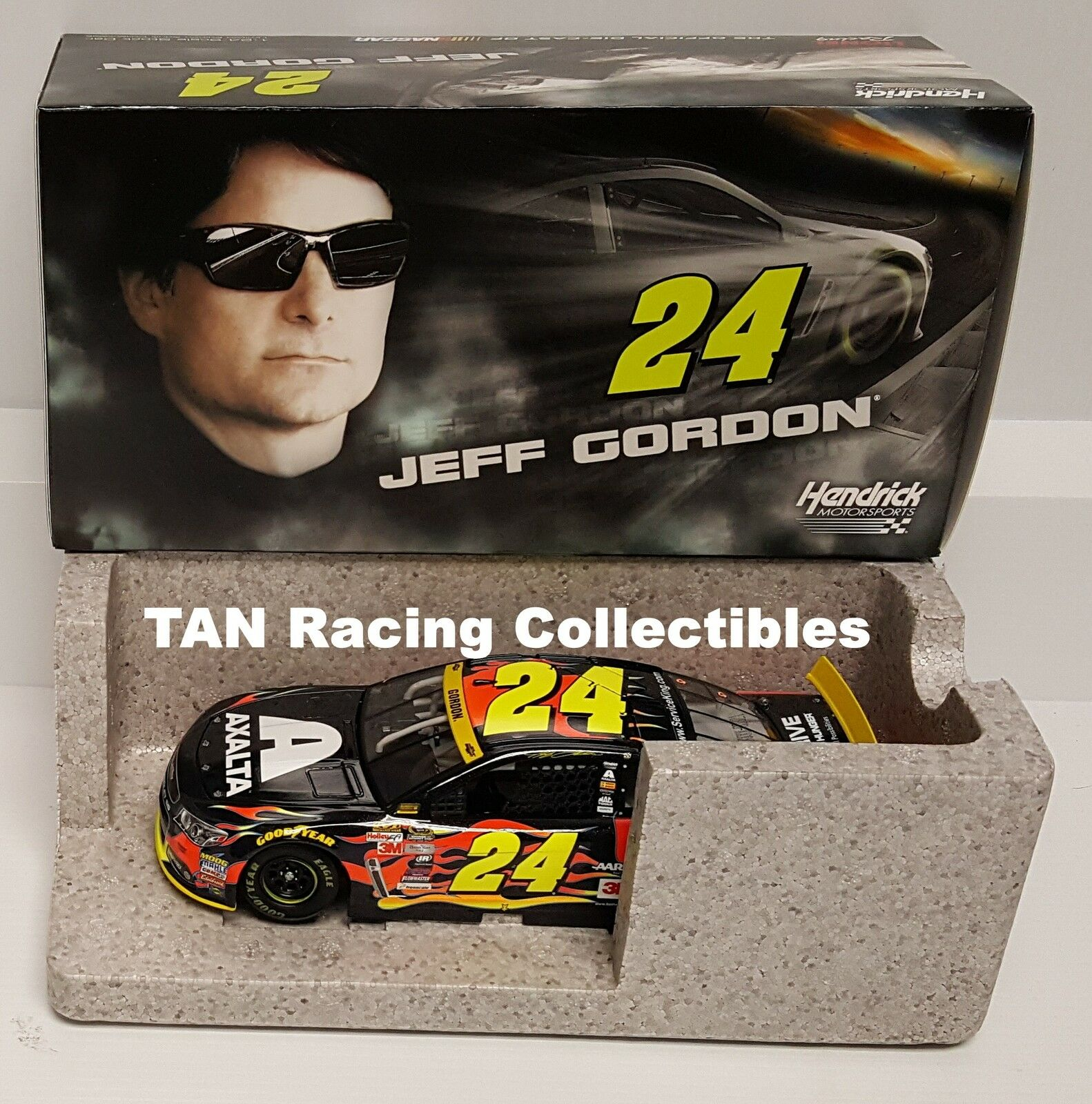 Jeff Gordon 2015 Lionel  24 axalta service King CHEVY 1 24 Free ship