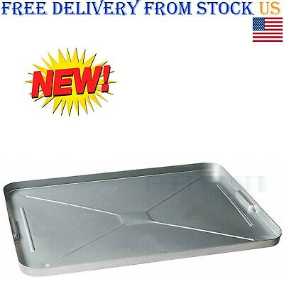 Oil Drip Pan Galvanized Tray Metal Large For Under Car Garage